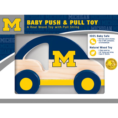 Michigan Wolverines Push & Pull Toy