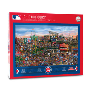Chicago Cubs Joe Journeyman Puzzle