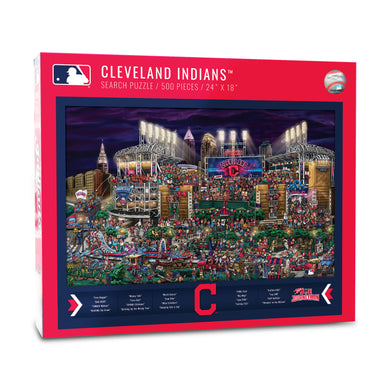 Cleveland Indians Joe Journeyman Puzzle