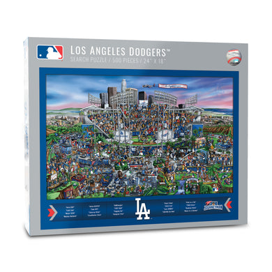Los Angeles Dodgers Joe Journeyman Puzzle