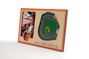 Baltimore Orioles 3D StadiumViews Picture Frame
