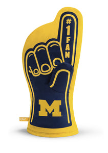 Michigan Wolverines #1 Fan Oven Mitt