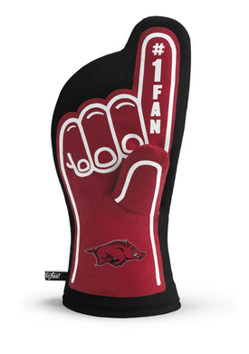 Arkansas Razorbacks #1 Fan  Oven Mitt