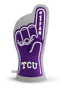 TCU Horned Frogs #1 Fan Oven Mitt