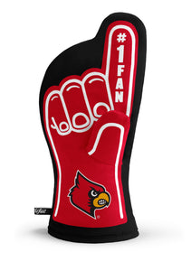 Louisville Cardinals #1 Fan Oven Mitt