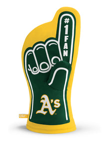 Oakland Athletics #1 Fan  Oven Mitt