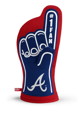 Atlanta Braves #1 Fan Oven Mitt