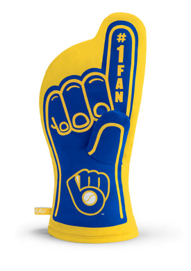 Milwaukee Brewers #1 Fan Oven Mitt