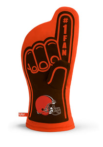 Cleveland Browns #1 Fan Oven Mitt