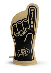 Colorado Buffaloes #1 Fan Oven Mitt