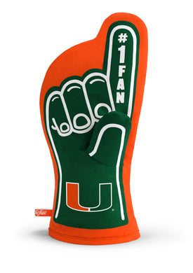 Miami Hurricanes #1 Fan Oven Mitt