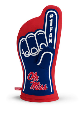 Ole Miss Rebels #1 Fan Oven Mitt
