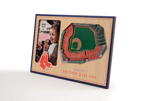 Boston Red Sox 3D StadiumViews Picture Frame