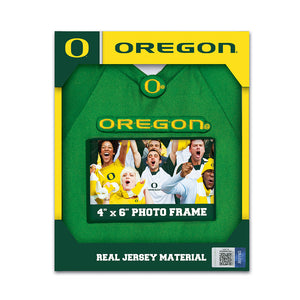 Oregon Ducks Jersey Frame