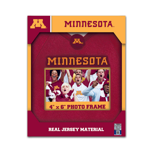 Minnesota Golden Gophers Jersey Frame