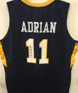 wvu basketball, nathan adrian autograph,  press virginia,