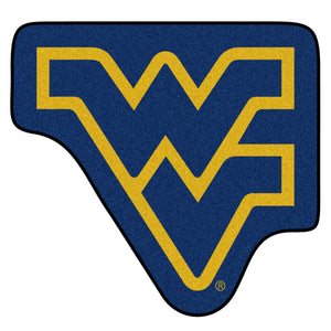 west virginia mountaineers mascot mat, wvu rug, wvu mat