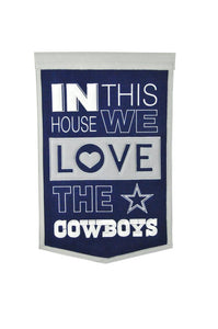 "Dallas Cowboys Home Banner - 15""x24"""