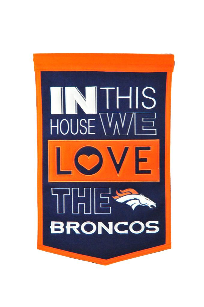 Denver Broncos Home Banner - 15