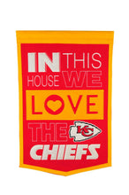 "Kansas City Chiefs Home Banner - 15""x24"""