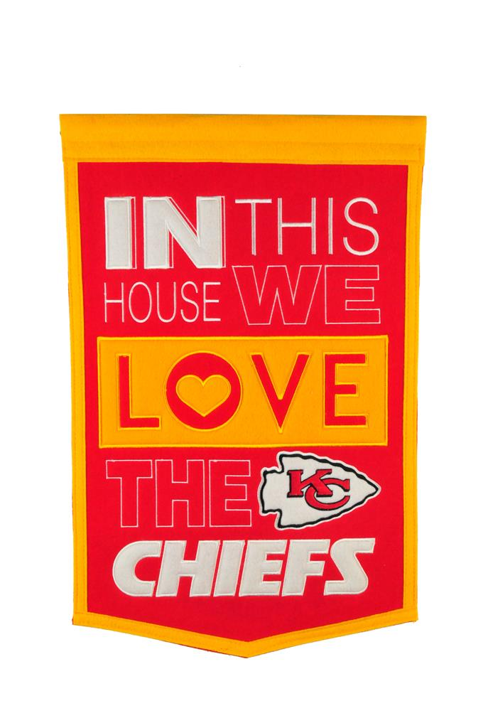Kansas City Chiefs Home Banner - 15