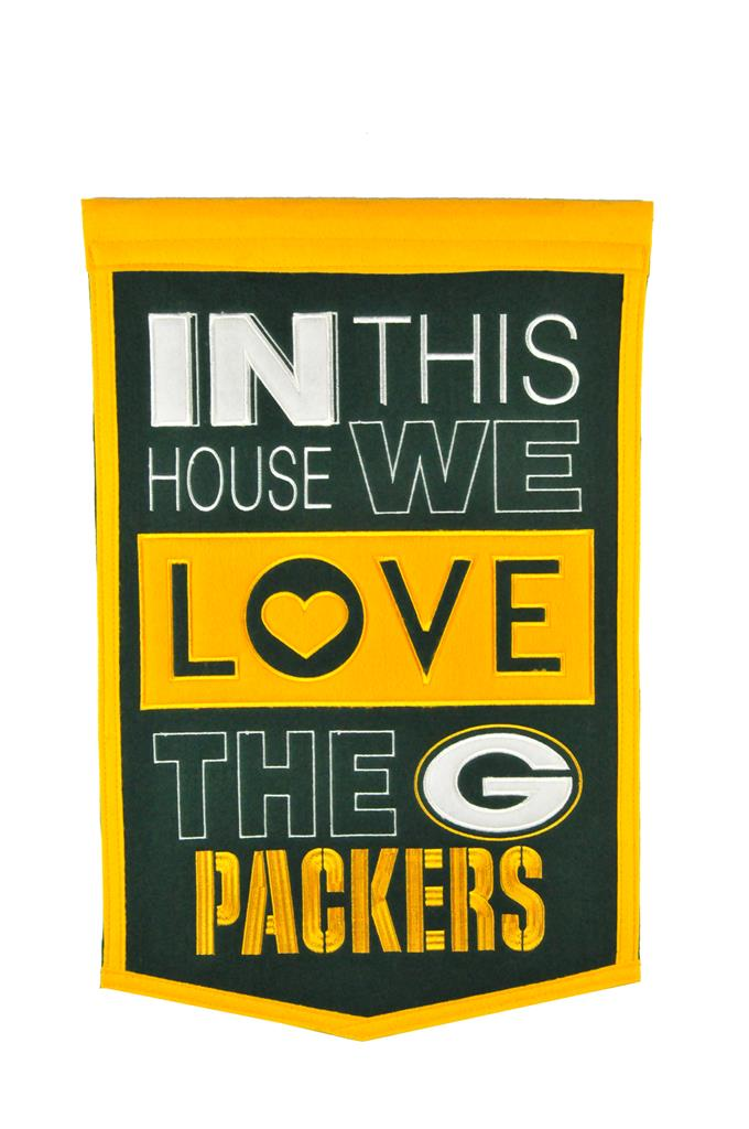 Green Bay Packers Home Banner - 15