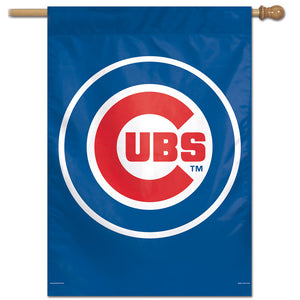 "Chicago Cubs Vertical Flag - 28""x40"" #4"