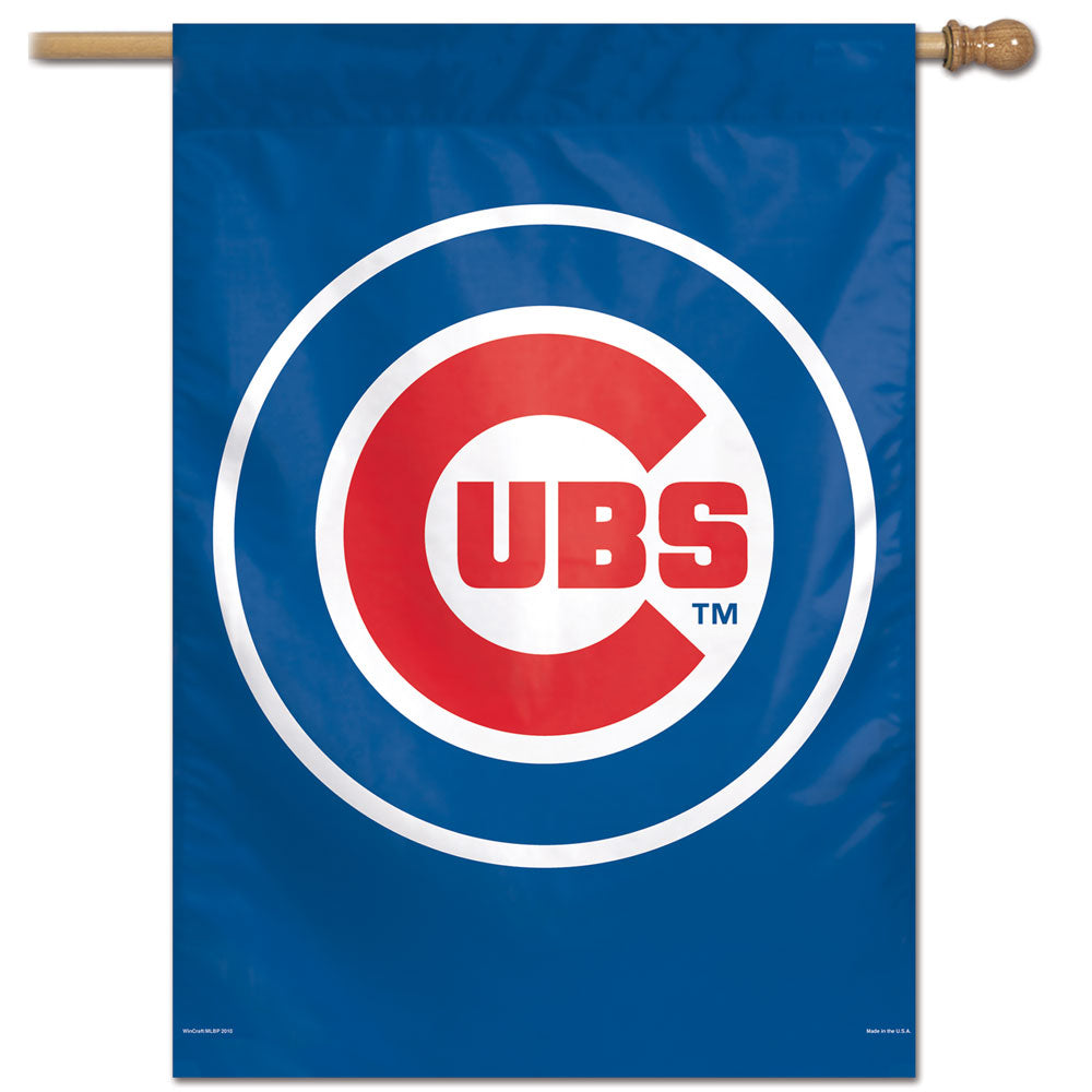 Chicago Cubs Vertical Flag - 28
