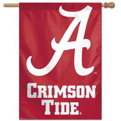Alabama Crimson Tide Vertical Flag 28