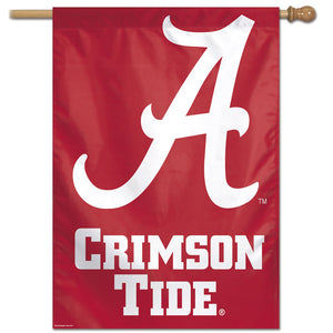 "Alabama Crimson Tide Vertical Flag 28""x40"""