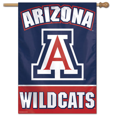 Arizona Wildcats Vertical Flag 28
