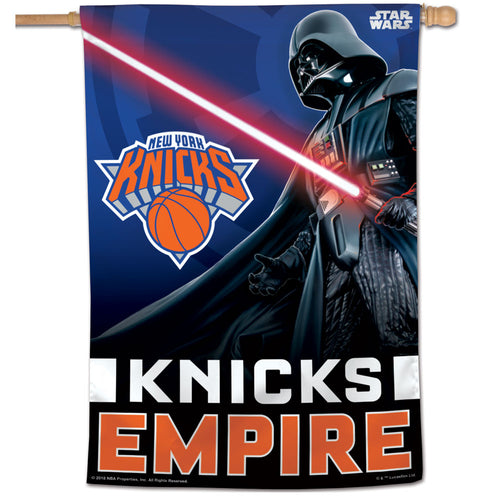 New York Knicks Star Wars Darth Vader Vertical Flag 28