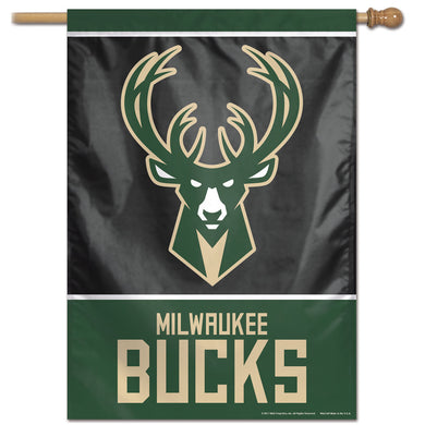Milwaukee Bucks Vertical Flag 28