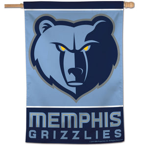 "Memphis Grizzlies Vertical Flag 28""x40"""