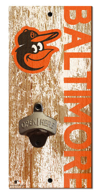 Baltimore Orioles Distressed Bottle Opener