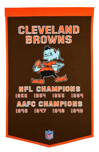 cleveland browns world champions dynasty banner