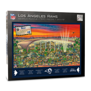 Los Angeles Rams Joe Journeyman Puzzle
