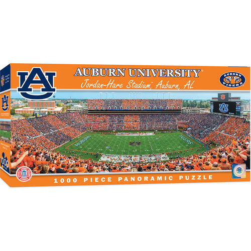Auburn Tigers Football Panoramic Puzzle