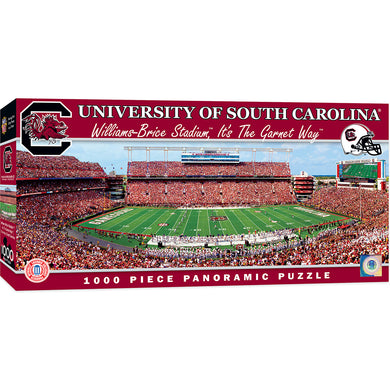South Carolina Gamecocks Football Panoramic Puzzle