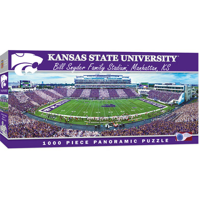 Kansas State Wildcats Football Panoramic Puzzle