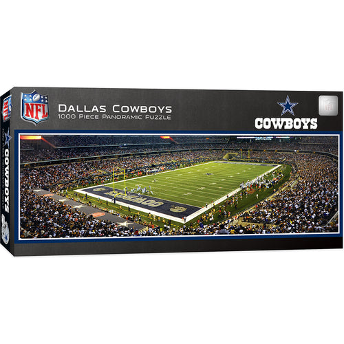 Dallas Cowboys Panoramic Puzzle