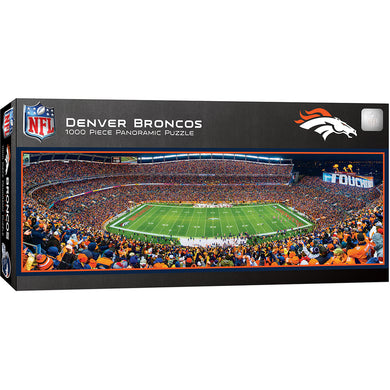Denver Broncos Panoramic Puzzle