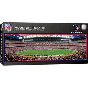 Houston Texans Panoramic Puzzle