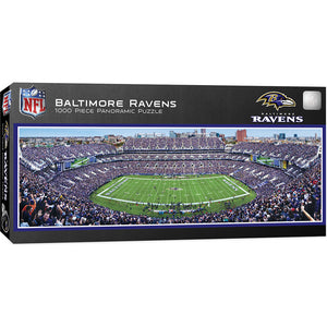 Baltimore Ravens Panoramic Puzzle
