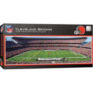 Cleveland Browns Panoramic Puzzle