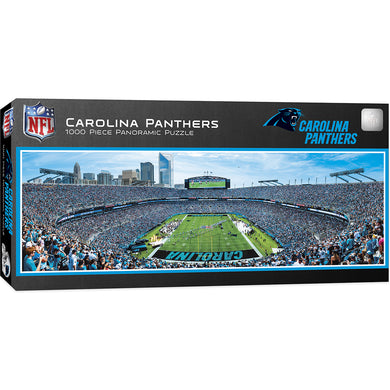 Carolina Panthers Panoramic Puzzle