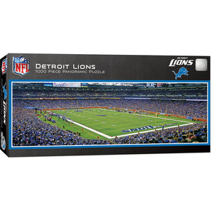 Detroit Lions Panoramic Puzzle
