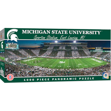 Michigan State Spartans Football Panoramic Puzzle