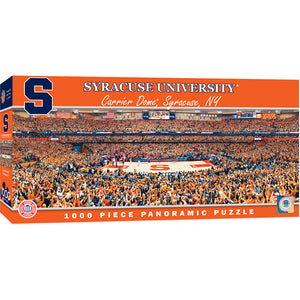 Syracuse Orange Basketball Panoramic Puzzle
