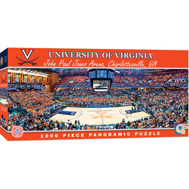 Virginia Cavaliers Basketball Panoramic Puzzle